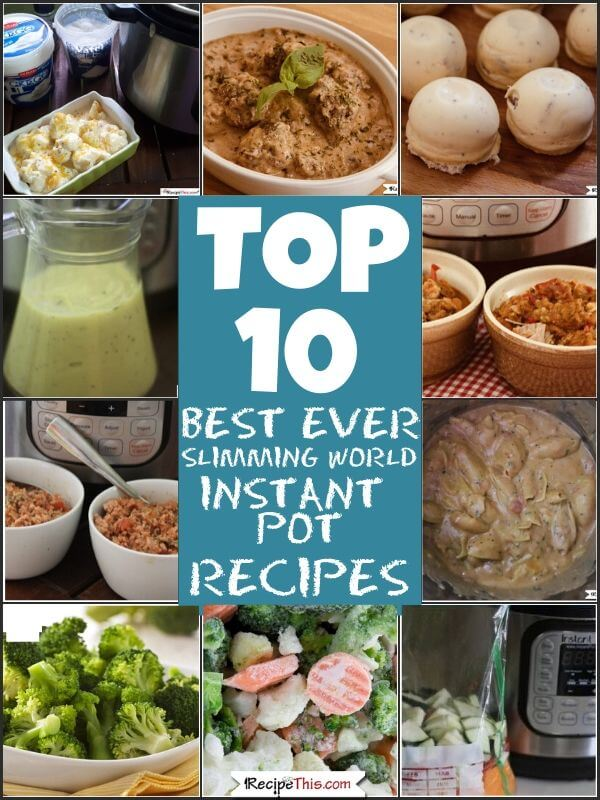 Top 10 Best Ever Slimming World Instant Pot Recipes
