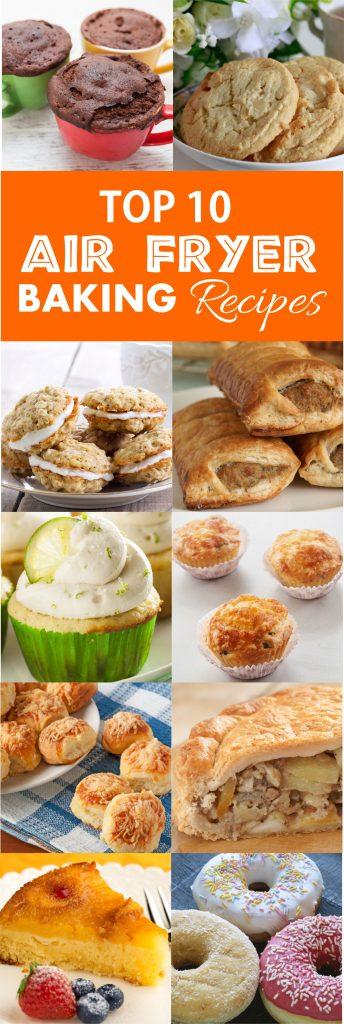 RecipeThis.com | Top 10 Air Fryer Baking Recipes