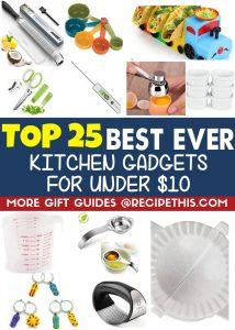 Top 25 Best Ever Kitchen Gadgets for under ten dollars
