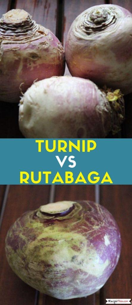 Turnip Vs Rutabaga
