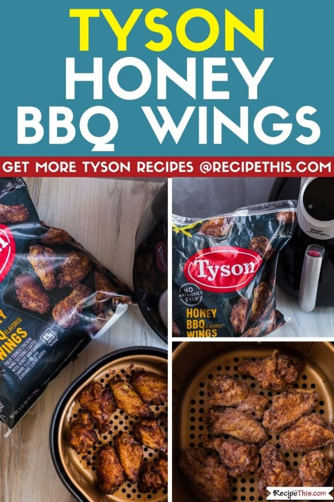 Tyson Honey BBQ Wings step by step