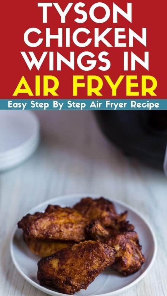 Tyson chicken wings in air fryer recipe
