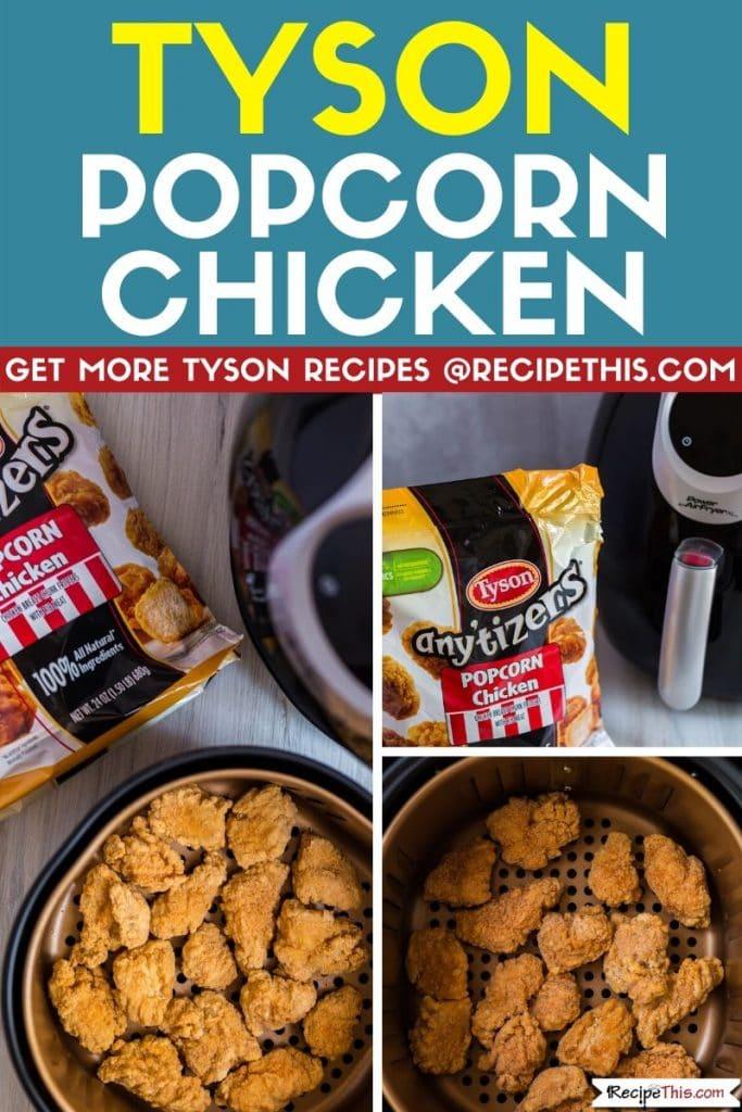 Tyson popcorn chicken step by step