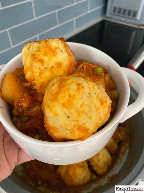 Vegetarian Dumplings Without Suet