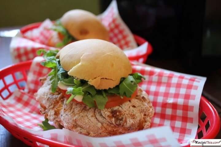 Wendys Spicy Chicken Burger In The Air Fryer