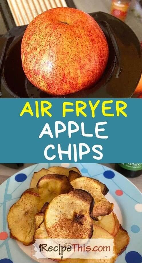 air fryer apple chips at recipethis.com