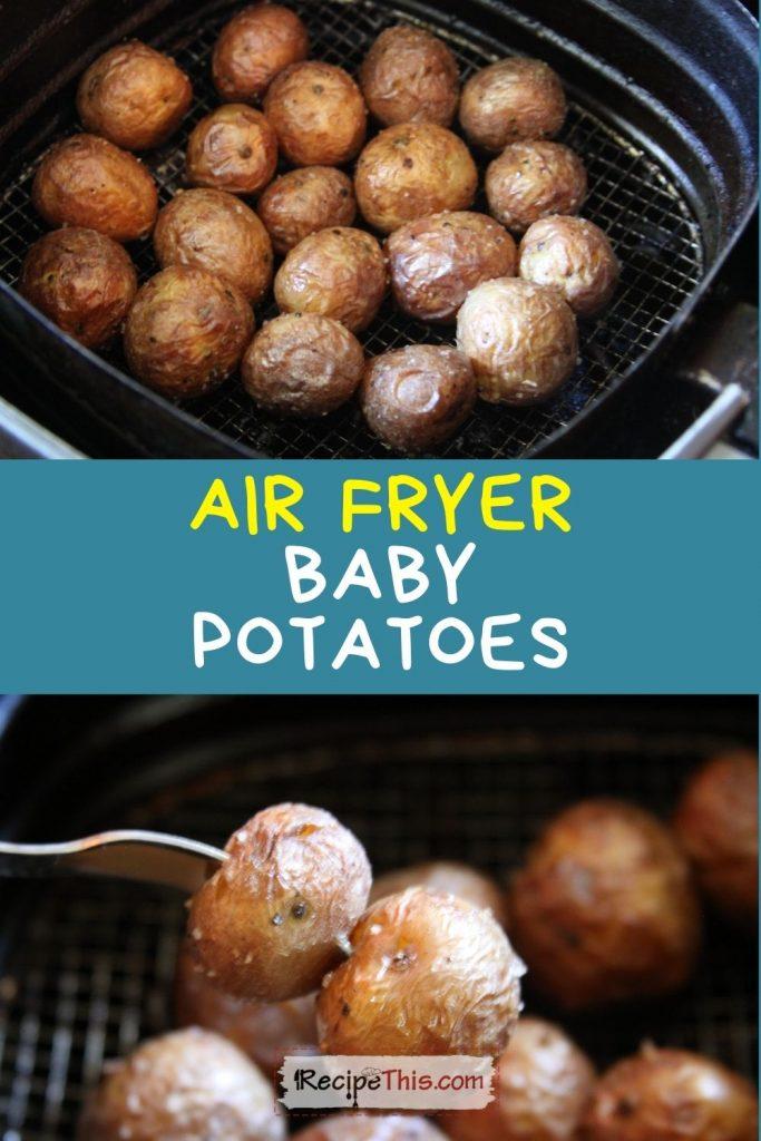 air fryer baby potatoes recipe