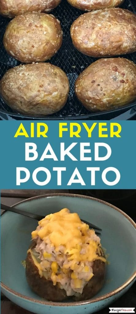 air fryer baked potato at recipethis.com
