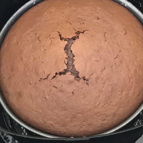 air fryer box cake