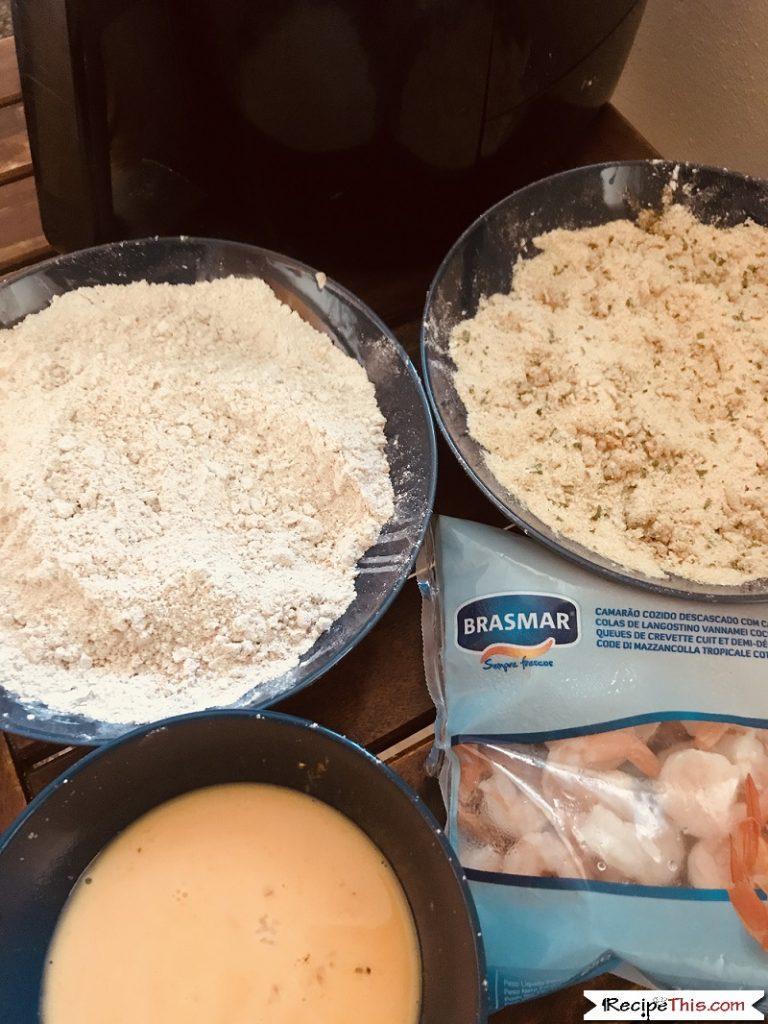 air fryer breaded shrimp ingredients