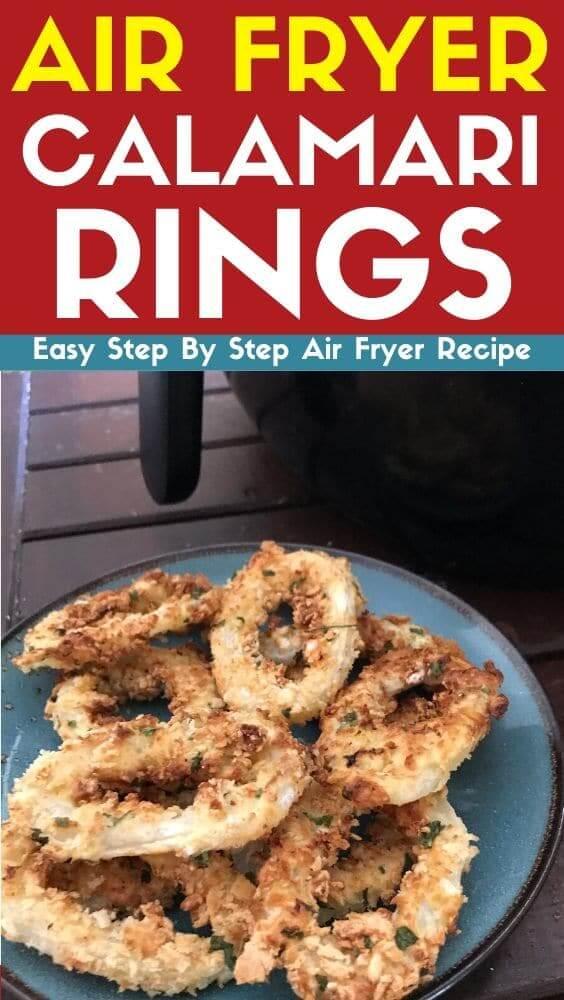 air fryer calamari rings recipe