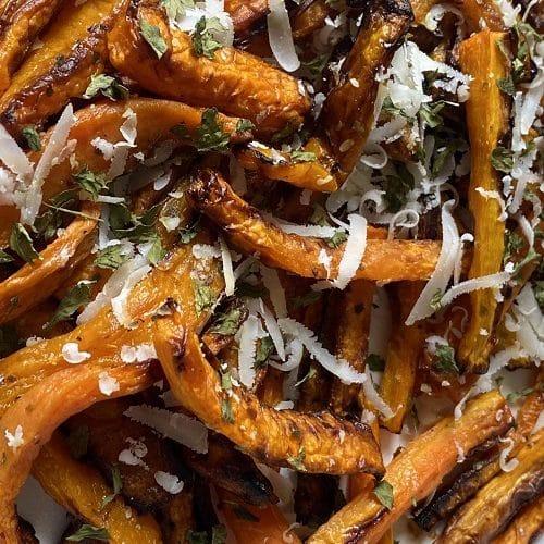 air fryer carrot chips