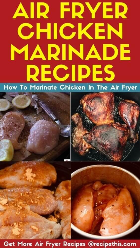 air fryer chicken marinade recipes at recipethis.com
