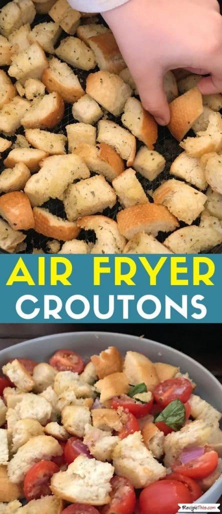 air fryer croutons recipe