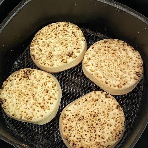 air fryer crumpets