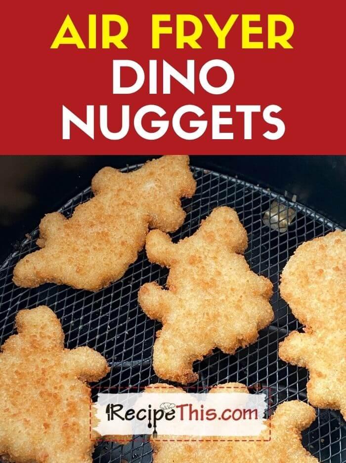 air fryer dino nuggets recipe
