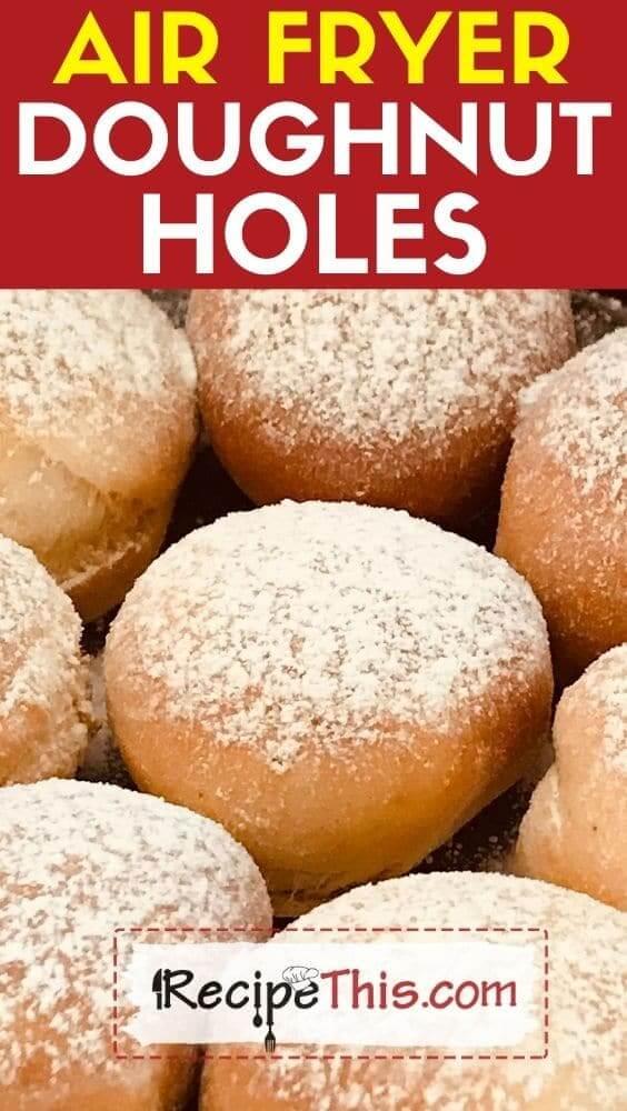 air fryer doughnut holes air fryer recipe