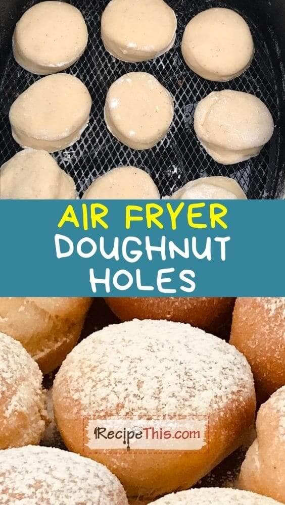 air fryer doughnut holes at recipethis.com