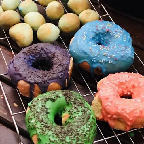 air fryer doughnuts from scratch