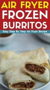 air fryer frozen burritos recipe