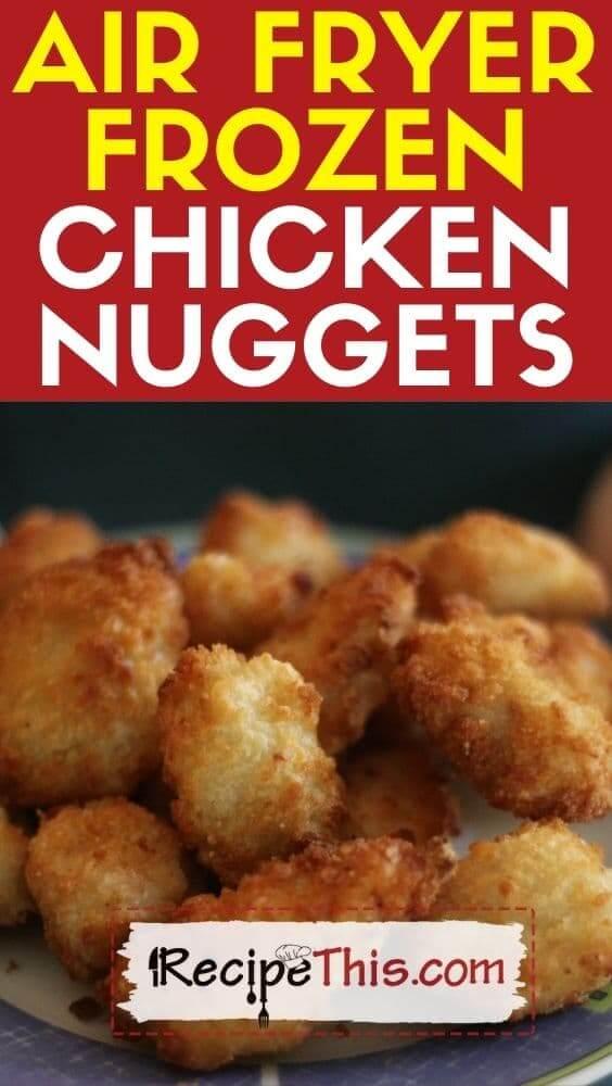 air fryer frozen chicken nuggets recipe