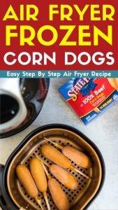 air fryer frozen corn dogs recipe