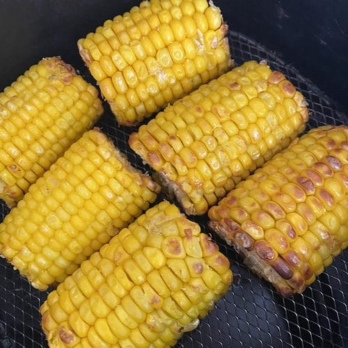 air fryer frozen corn on the cob