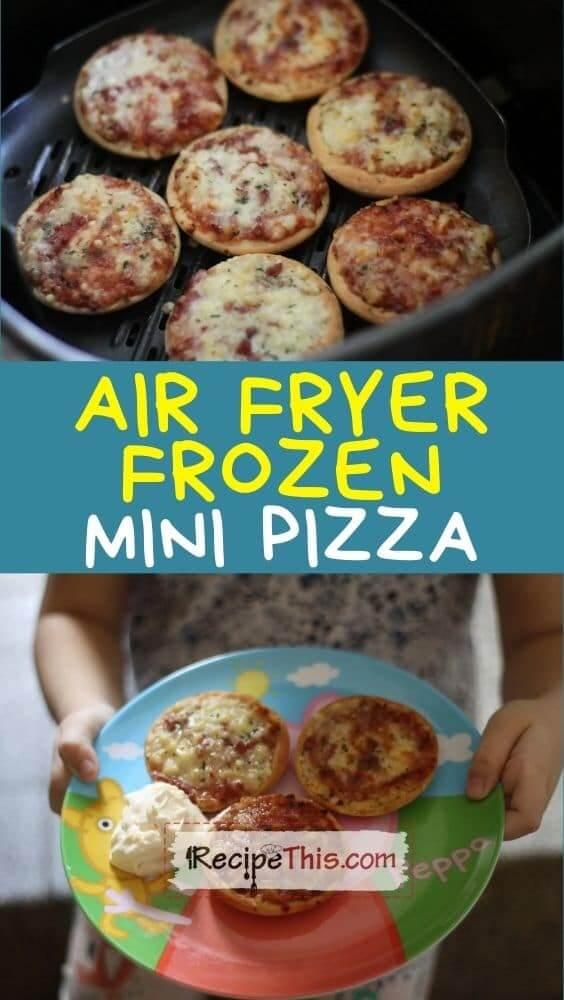 air fryer frozen mini pizza at recipethis.com