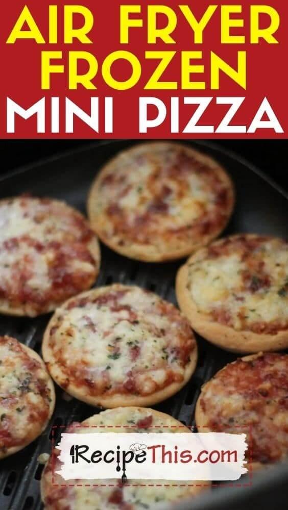 air fryer frozen mini pizza recipe
