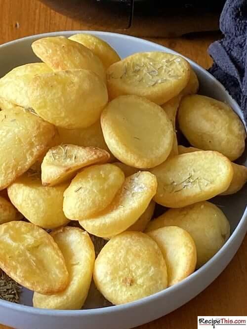 air fryer frozen roast potatoes