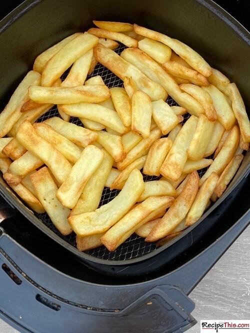 air fryer frozen steak fries