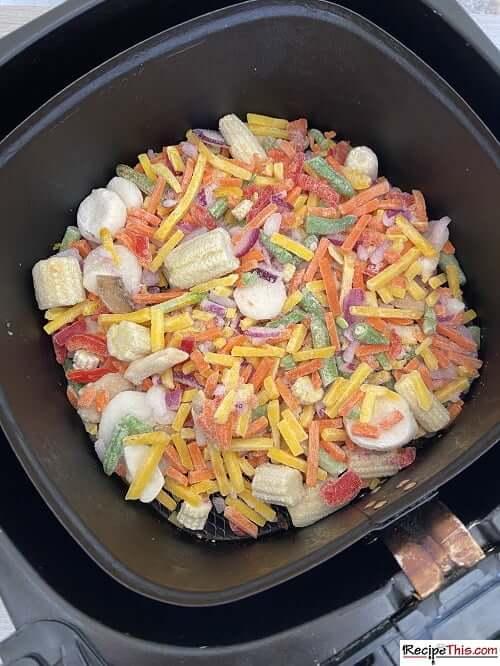 air fryer frozen stir fry vegetables