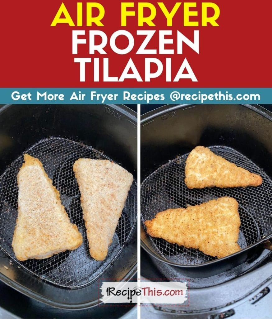 air fryer frozen tilapia step by step