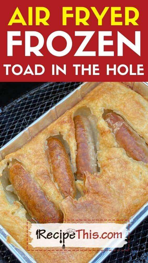 air fryer frozen toad in the hole at recipethis.com