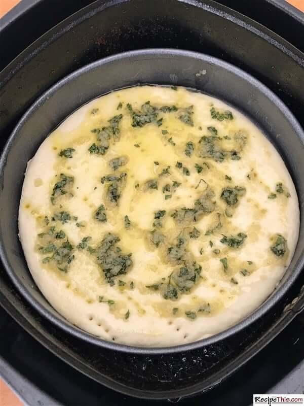 air fryer garlic bread size