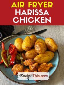 air-fryer-harissa-chicken