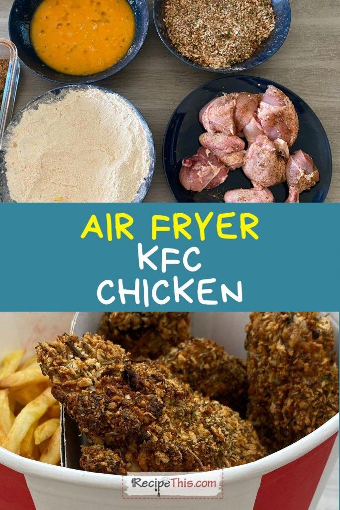 air fryer kfc chicken bucket recipe