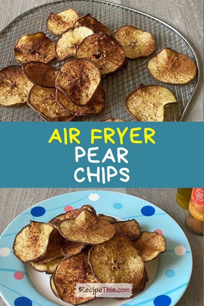 air fryer pears