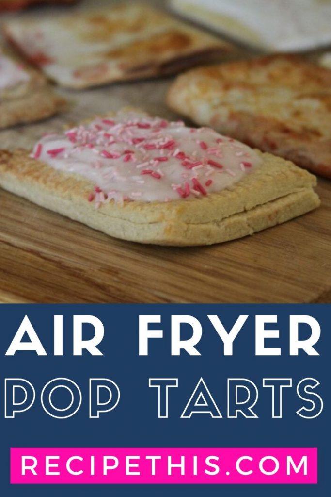 air fryer pop tarts at recipethis.com