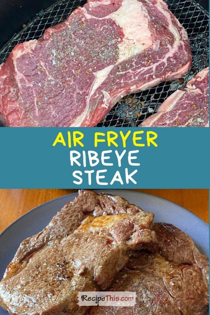air fryer ribeye steak recipe