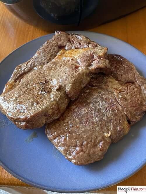 air fryer ribeye steak
