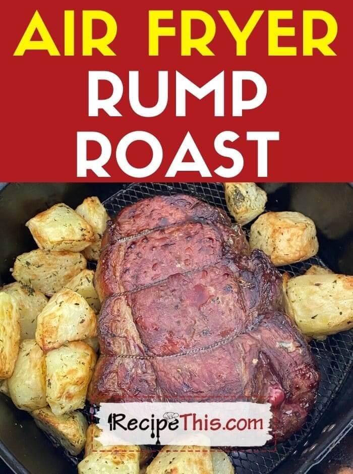 air fryer rump roast at recipethis.com