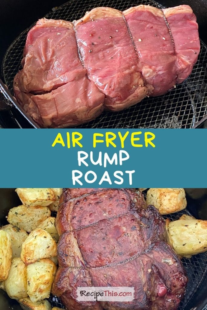 air fryer rump roast recipe