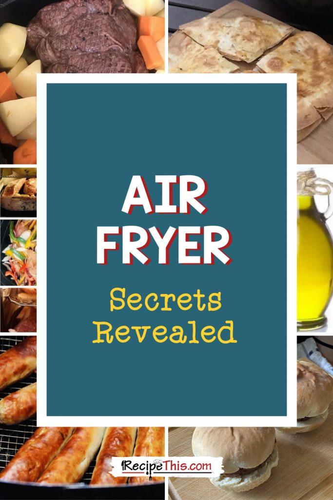 air fryer secrets