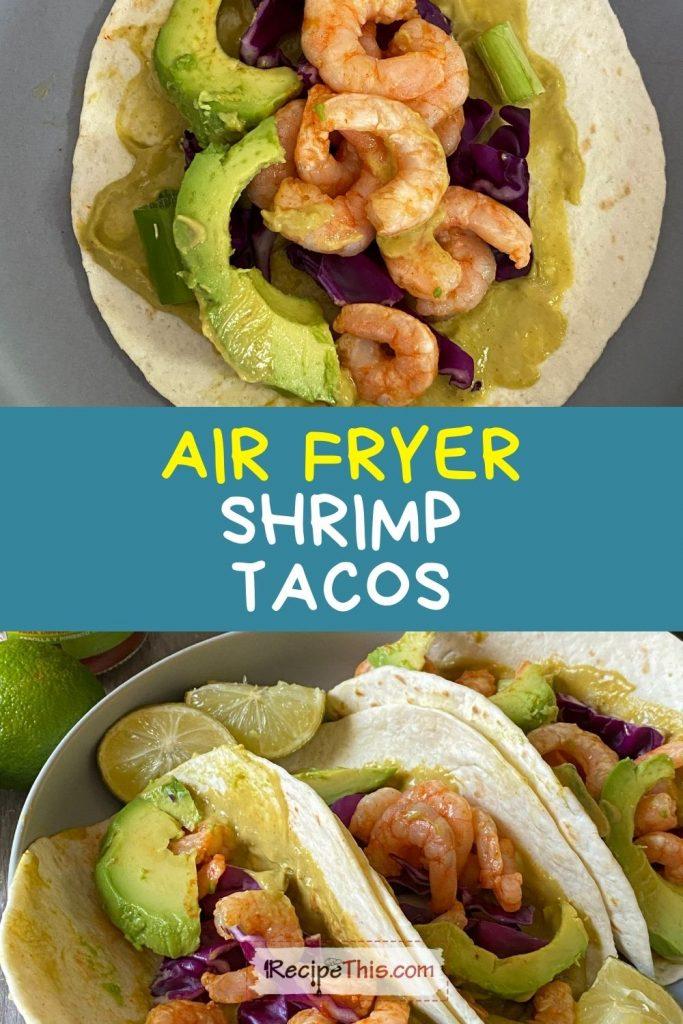 air fryer shrimp tacos recipe