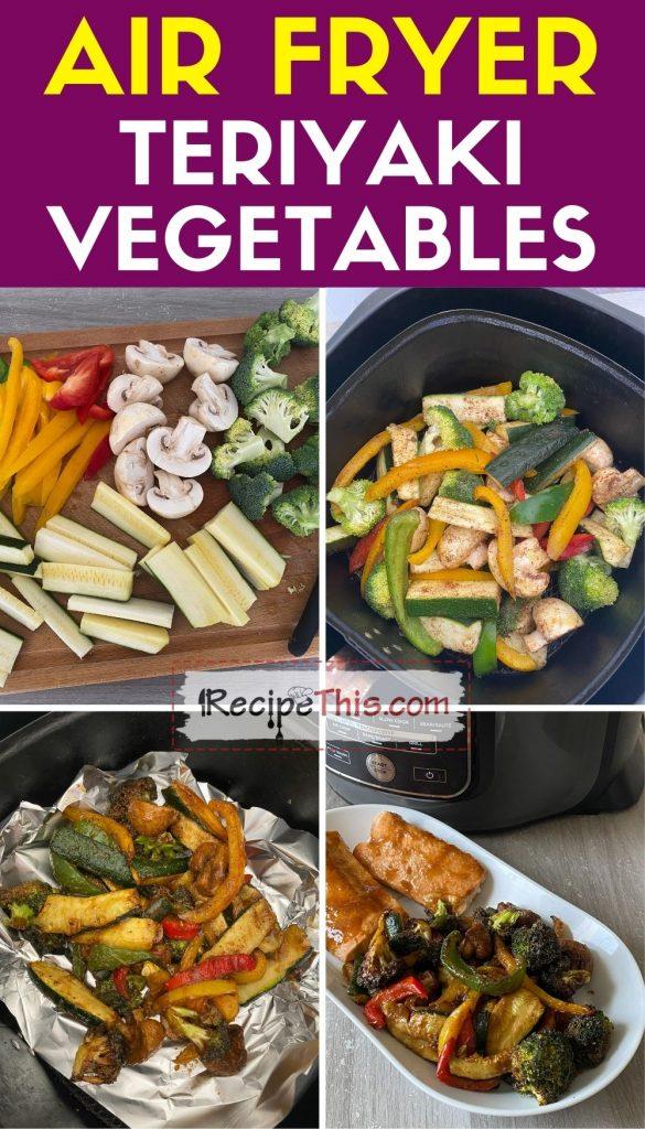 air fryer teriyaki vegetables recipe