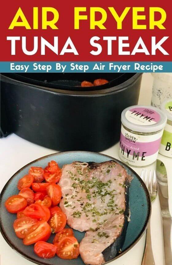 air fryer tuna steak recipe