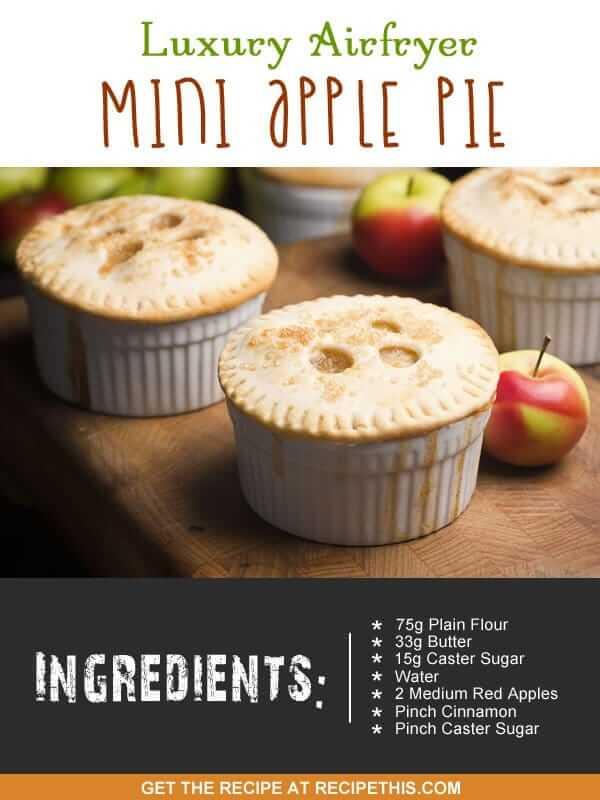 """""""airfryer apple pie"""""""