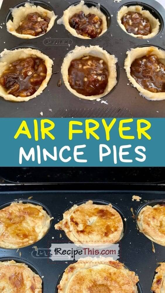 best air fryer mince pies