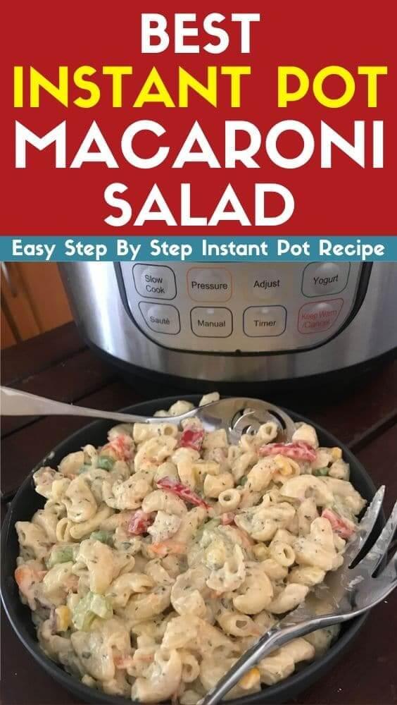 Best Instant Pot Macaroni Salad